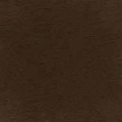 Fall Into Autumn- Brown Embossed Paper