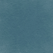 Fall Into Autumn- Dark Blue Embossed Paper