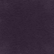 Fall Into Autumn- Dark Purple Embossed Paper