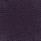 Fall Into Autumn- Dark Purple Embossed Paper
