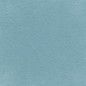 Fall Into Autumn- Light Blue Embossed Paper