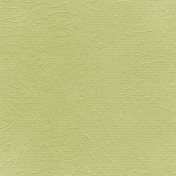 Fall Into Autumn- Light Green Embossed Paper