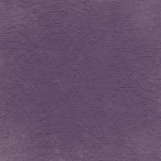 Fall Into Autumn- Light Purple Embossed Paper