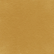 Fall Into Autumn- Light Yellow Embossed Paper