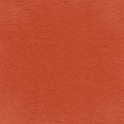 Fall Into Autumn- Medium Orange Embossed Paper