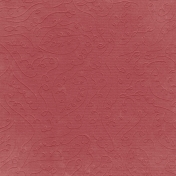 Fall Into Autumn- Pink Embossed Paper