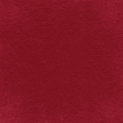Fall Into Autumn- Red Embossed Paper