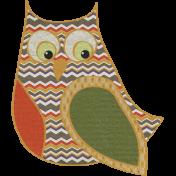 Fall Into Autumn- Big Owl Doodle Art