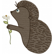 Fall Into Autumn- Hedgehog Doodle Art