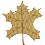 Fall Into Autumn- Maple Leaf Doodle Art