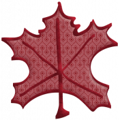 Fall Into Autumn- Maple Leaf 2 Doodle Art