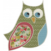 Fall Into Autumn- Small Owl Doodle Art