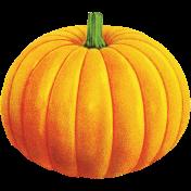 Chills & Thrills Orange Pumpkin