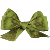 Chills & Thrills Green Bow