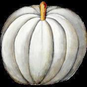 Chills & Thrills White Pumpkin