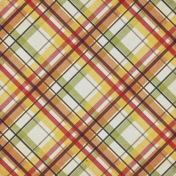 Chills & Thrills Mini Autumn Plaid Paper
