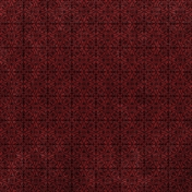 Chills & Thrills- Red Velvet Damask Paper