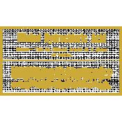 Chills & Thrills- Advertisement Chalk Stamp