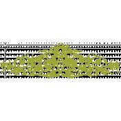 Chills & Thrills- Ornamental Chalk 2 Stamp