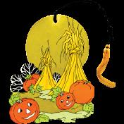 Chills & Thrills- Mini Pumpkin Bridge Tally