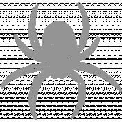 Chills & Thrills- Spider Chalk Stamp