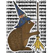 Chills & Thrills- Hedgehog Doodle