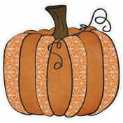Chills & Thrills- Pumpkin Doodle