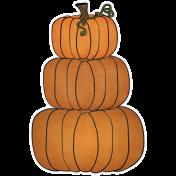Chills & Thrills- Pumpkin Stack Doodle