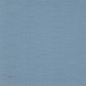 Our House- Blue Floral Doodle Paper