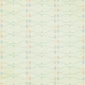 Our House-Floral Doodle Paper