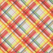 Our House- Plaid Paper