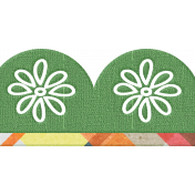 Our House- Scalloped Ribbon