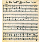 Our House- Sheet Music