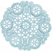 The Nutcracker- Blue Doily