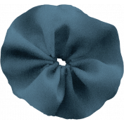 The Nutcracker- Blue Fabric Flower 2
