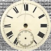 The Nutcracker- Clock Face