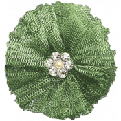 The Nutcracker- Green Sheer Flower 2