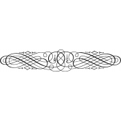 Ornamental Stamp Template 009