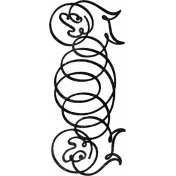 Ornamental Stamp Template 013