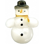 The Nutcracker- Snowman Button