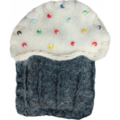 The Nutcracker- Stitched Cupcake