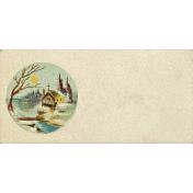 Nutcracker Vintage Calling Card