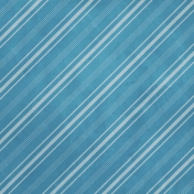 The Nutcracker- Blue Diagonal Stripe Paper