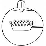 Ornament Doodle Template 04