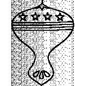 Ornament Doodle Template 03