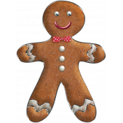 Nutcracker Doodle- Gingerbread Man