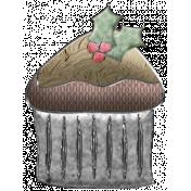 Nutcracker Doodle- Cupcake Ornament