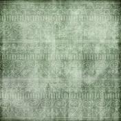 The Nutcracker- Green Shapes Paper