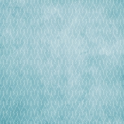 The Nutcracker- Light Blue Ornamental Paper