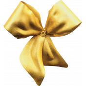 The Nutcracker Mini 1- Gold Brooch Bow